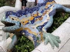 Barcelona - Gaudi - Parque Guell Reptil.jpg