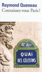 raymond queneau,connaissez-vous paris,éditions folio,paris,littérature paris