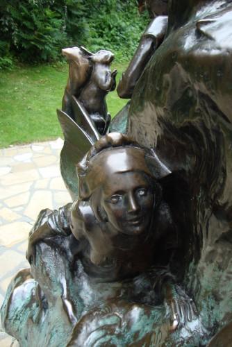 james matthew barrie,écosse,écossais,londres,londres xixe,peter pan,kensington,kensington gardens,statue de peter pan,jardins de kensington,angleterre