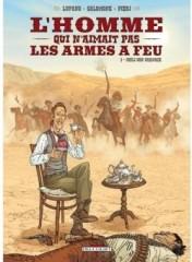 bd du mercredi,l'homme qui n'aimait pas les armes à feu,far west,western,bande dessinée,xixe