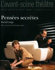 david lodge, pensees secretes, samuel labarthe, isabelle carré, théâtre david lodge, théâtre pensées secrètes