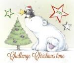 challenge il était quatre fois noël,fiona watt & erica harrison,la peinture magique 'noël',editions usborne