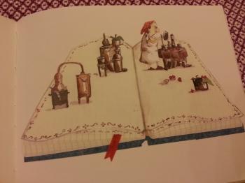 Christine Naumann-Villemin & Marianne Barcilon, La Sorcière Rabounia, editions ecole des loisirs, sorcieres, challenge halloween, challenge halloween 2017, challenge je lis aussi des albums