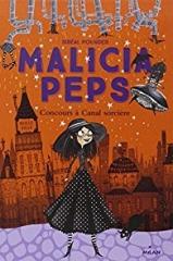 Sibéal Pounder, Malicia Peps, T1, Concours à Canal Sorcière / Illustrations de Laura Ellen Anderson, challenge halloween, challenge halloween 2017, sorcieres