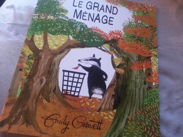 emily gravett,le grand ménage,albums anglais,le mois anglais,editions l'ecole des loisirs
