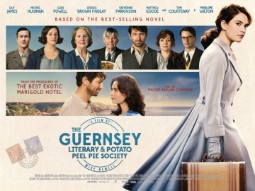 The Guernsey Potato Peel Pie Society, challenge feel good, le mois anglais, costume drama, film d'époque, guernesey, période de l'occupation